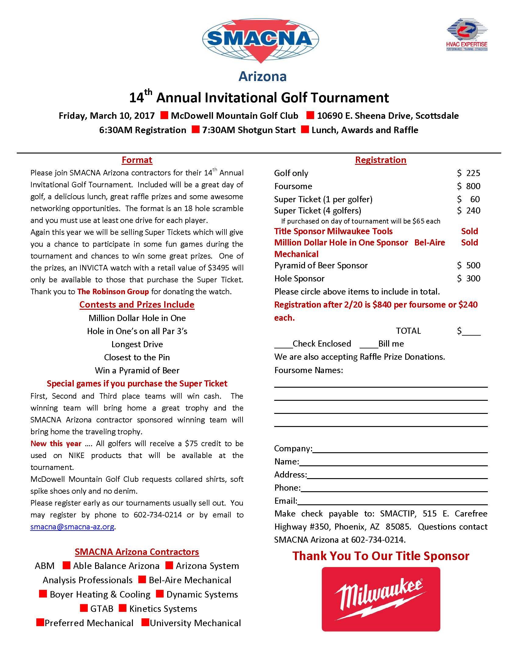 Smacna az golf tournament registration form 2017 golf tournament registration pronofoot35fo Gallery
